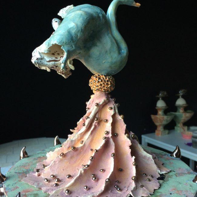 Keramiek miniatuur H. Bouquet IV