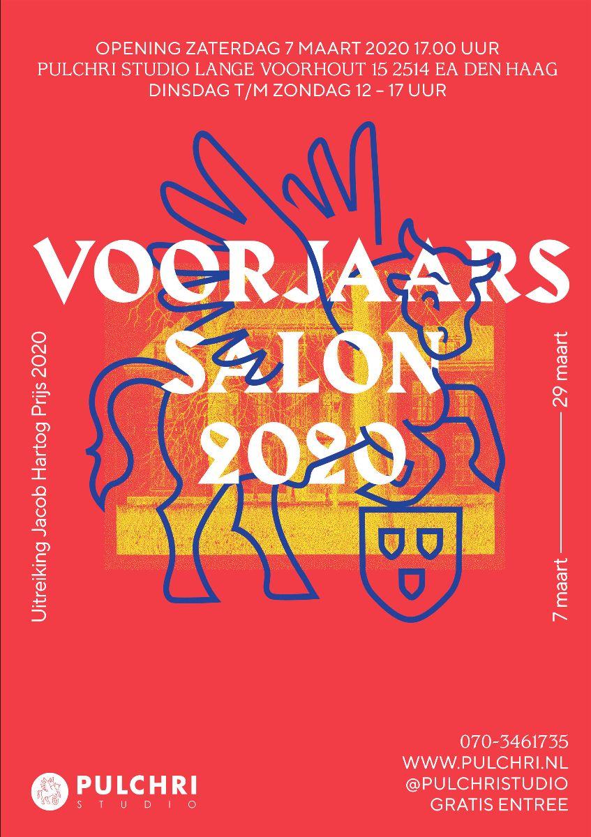 Pulchri Studio Den Haag, deelname aan Voorjaarssalon 2020. Mance van Beers
