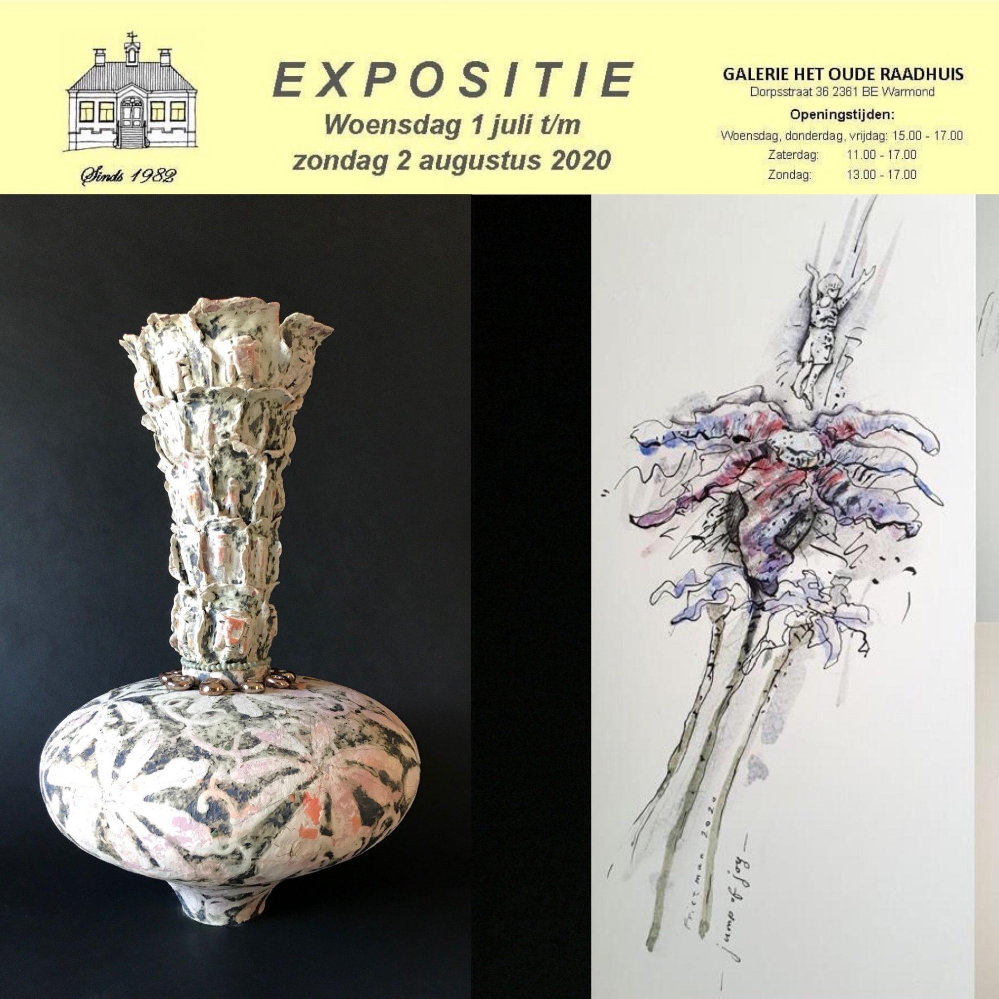 Expositie Warmond – Galerie Het Oude Raadhuis